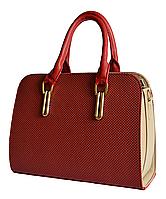 L-S Сумка красная стильная модная женская