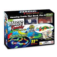 Детский светящийся трек Magic Track  220 деталей Меджик Трек
