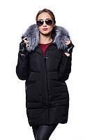 Куртка женская зимняя Meajiateer M17-82 ЧЕРНЫЙ
