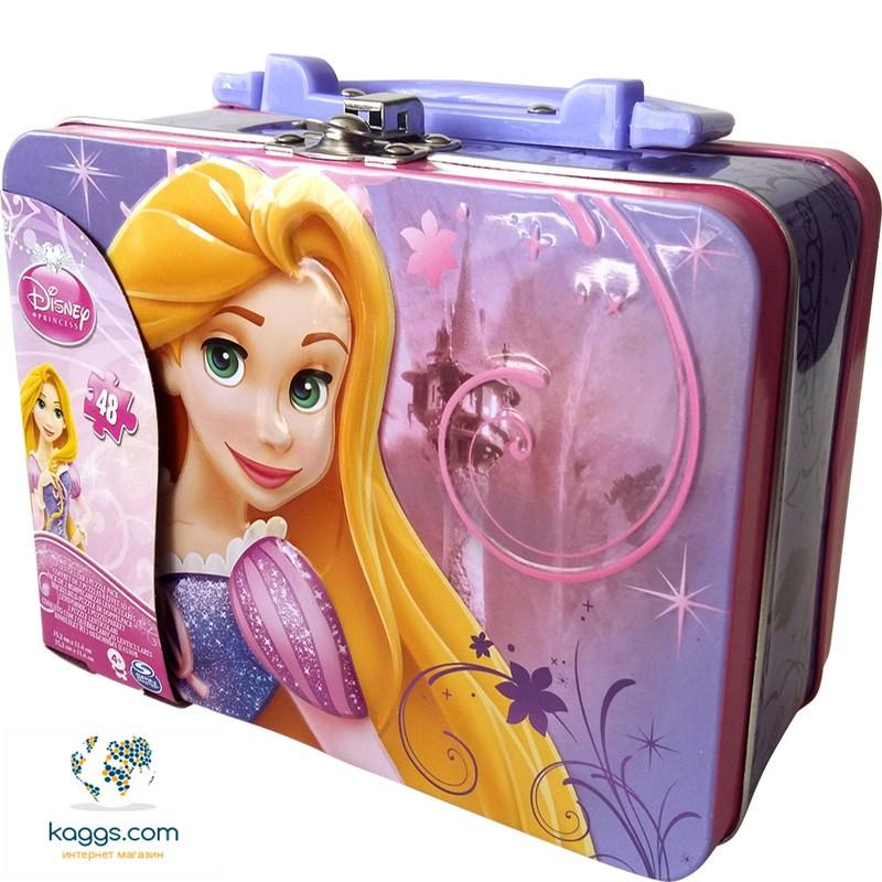 Пазл переливной 2 в 1 «Принцессы» (в жестяной коробке) SM98324/6033105 Spin Master