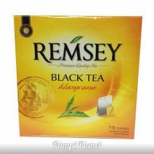 Чай чорний Ramsey класичний (жёлтая уп.) 75 пакетиков (131.25 гр.)