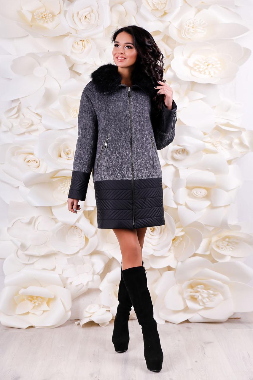 4edb6bfe1ce7be Зимнее женское теплое пальто 44, 52, 54 размер.Зимове жіноче пальто ...