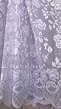 Тюль жаккард высота 1.1м MEREK, фото 2