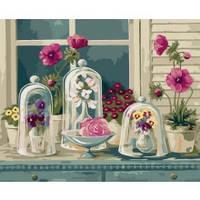 """Рисование по номерам Квіти """"Квіткове розмаїття"""" 40*50см"""