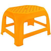 Табурет пластиковый Кроха светло-оранжевый N11015313
