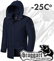 Braggart 'Black Diamond'. Парка зимняя 9062 темно-синяя