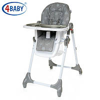 Детский Стульчик для кормления 4 Baby стул д/кормления Decco (Grey)
