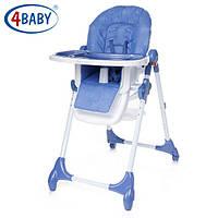 Детский Стульчик для кормления 4 Baby стул д/кормления Decco (Blue)