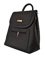 L-S Сумка рюкзак школьный портфель девчачий синий темный молодежный