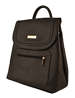 L-S Сумка рюкзак девчачий черный молодежный