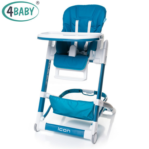 Стульчик для кормления 4 Baby ICON (Navy Blue)