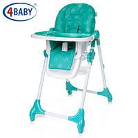 Детский Стульчик для кормления 4 Baby стул д/кормления Decco (Turkus)