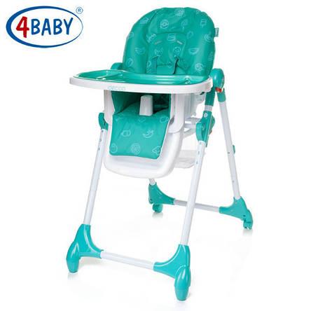 Стульчик для кормления 4 Baby Decco (Turkus), фото 2