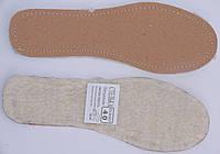 Стелька набивной мех на кож.картоне размерная 35-46р