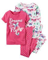 Пижама Carter's, 4 вещи  3Т-4Т