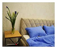 Льняная наволочка ''Loft Blue''