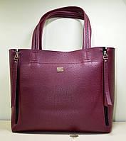 Женская сумочка из красной эко-кожи, новая модель 2018 трансформер