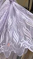 Тюль жаккард высота 1.1м ELA