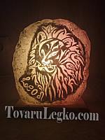 Лампа из соли - знак зодиака Лев (4,5 кг)