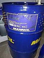 Масло моторное Mannol CLASSIC 60L SAE 10W-40 API SN/CF полу-синтетика