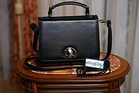 L-S Женская повседневная сумочка жесткая черная маленькая