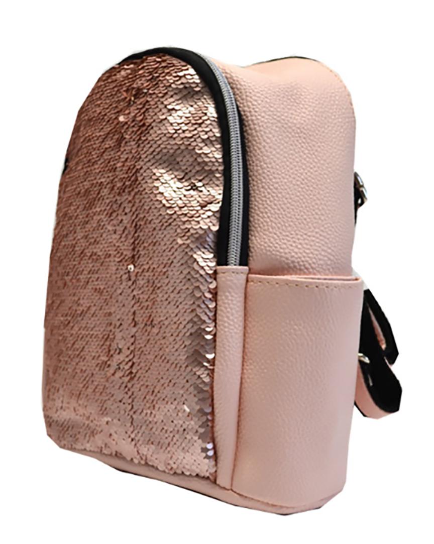 L-S Рюкзак маленький пудра девчачий модный с пайетками - Женские сумки  оптом и в розницу купить 511c3f5986b