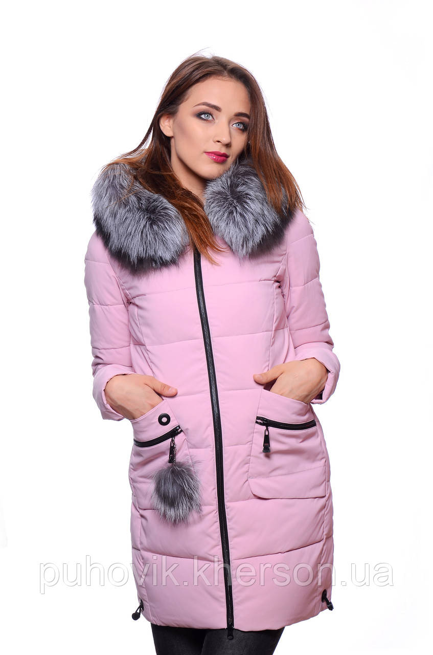 28a0e457e52 Куртка женская зимняя Meajiateer M17-61 ПУДРА  продажа