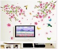Интерьерная наклейка на стену Ветки дерева  (AY9158)
