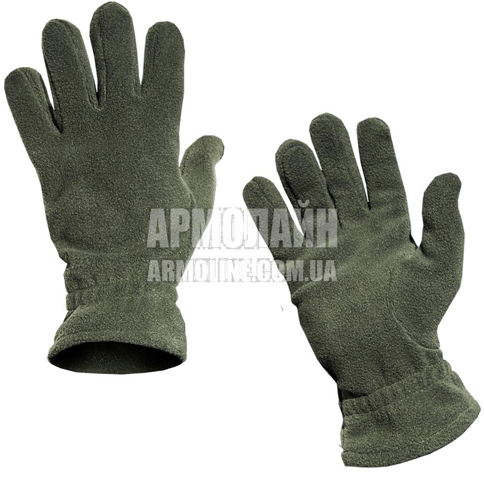 """Перчатки (рукавицы) зимние """"Флис"""" Olive"""