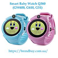 Детские GPS часы Q360. Первая модель детских часов с круглым экраном