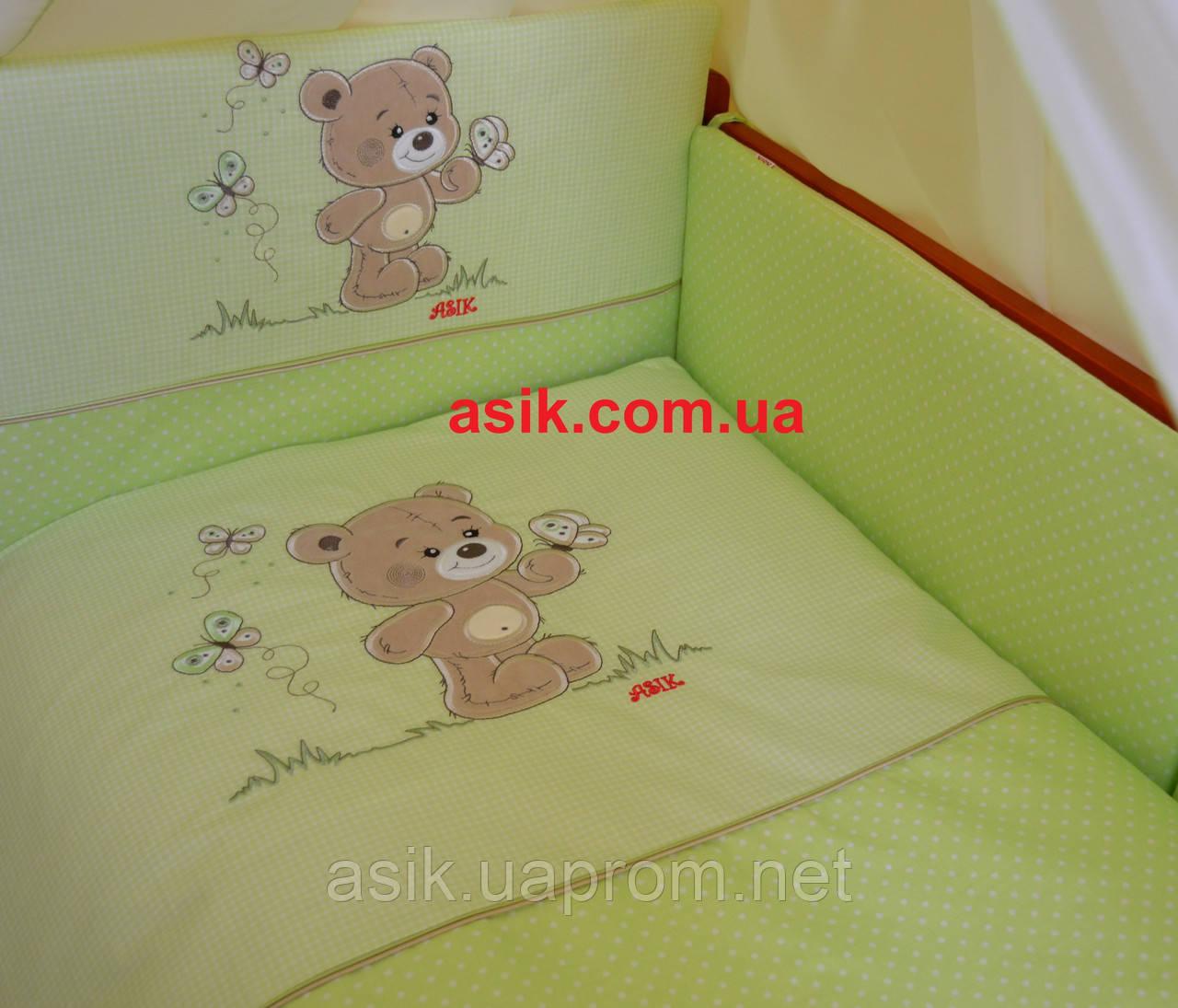 Комплекты в кроватку с вышивкой