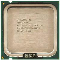Intel Pentium D 945 3.4GHz/4M/800MHz Socket 775. +термопаста
