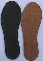 Стелька кожаная на латексной основе размерная 35-46р