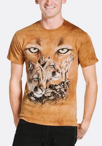 3D футболка мужская The Mountain р.M 50-52 RU футболки мужские с 3д рисунком (Пумы), фото 2