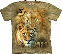 3D футболка мужская The Mountain р.S 46-48 RU футболки 3д (Король Африки)