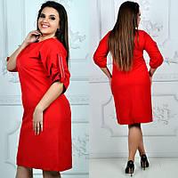 Платье модель 798 , красный