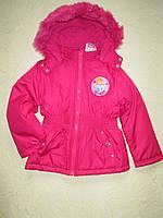 Куртка зимняя на девочку 6 лет  DISNEY Англия