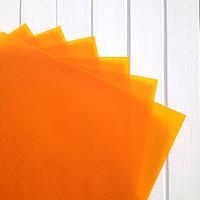 Бумага пергаментная Оранжевая А4 Folia 115гр/м6