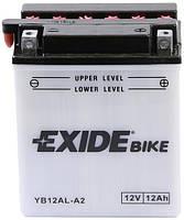 Аккумулятор сухозаряженный Exide YB12AL-A2 = EB12AL-A2
