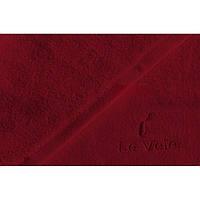 Полотенце Le Vele Claret махровое 50-100 см бордовое, фото 1