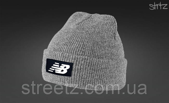 Зимняя шапка New Balance Melange Winter Beanie, фото 2