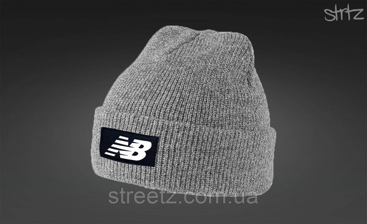 Зимняя шапка New Balance Melange Winter Beanie