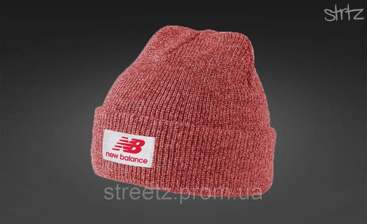 Зимняя шапка New Balance Melange Winter Beanie
