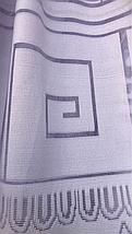 Тюль жаккард высота 1.1м BORA, фото 2