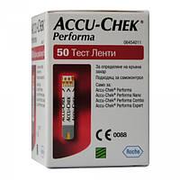Тест-полоски «Акку-Чек Перформа» (Accu-Chek® Performa) 50 шт., Roche Diagnostics Gmbh, Германия