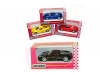 "Детская игрушка металлическая машинка ""Porsche Carrera GT"" KINSMART"