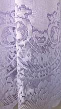 Тюль жаккард высота 1.2м KOBIK, фото 2