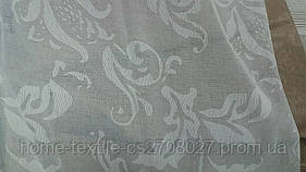 Тюль с рисунком (деворе)