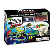 Детский светящийся трек Magic Tracks  220 деталей Меджик Трек