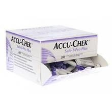 Система для прокалывания Акку-Чек Сейф-Т-Про ПЛЮС (Accu-Chek Safe-T-Pro Plus), 200 шт., ПО ПРЕДОПЛАТЕ